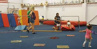 fantastic gymnastics. busy, busy at one of fantastic gymnastics\u0027 first mommy and me gymnastics