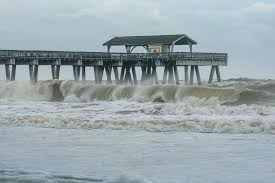 Tybee Island Tide Chart Dorian Creeps Up Us Coast Near Record Storm Surge Feared