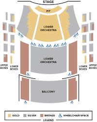 Seating Chart Sfsc Performing Arts