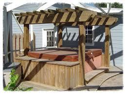 hot tub pergola pergola hot tub cover hot tub pergola diy hot tub