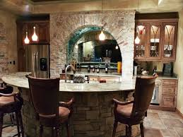 Basement Wet Bar Design Decoration