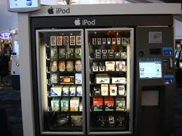 The Best Vending Machines Interesting IPod Vending Machine SOME Contrast