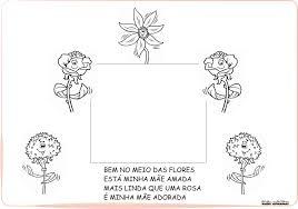 Quando deus criou as mães. Album Homenagem Dia Das Maes Educacao Infantil