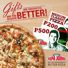 Papa John's Pizza Philippines | Call 887 - 7272 for Delivery or ...