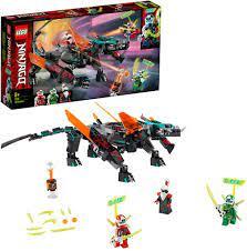 LEGO Ninjago 71713 Schwarzer Tempeldrache: Amazon.de: Spielzeug