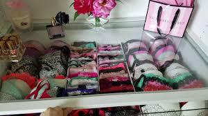 Organize bras and panties