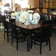 x dining table with 2 leaves set includes arm chairs and 4 side shown in rustic