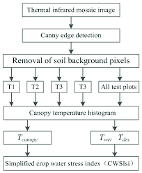 Flow Chart On The Calculation Of The Simplified Crop Water