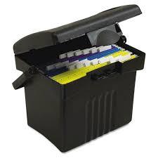 hanging file box. Portable Hanging File Box, Letter Size, 14\ Box