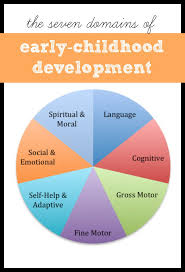Early Childhood Development Chart Third Edition Developmental Domains Of Early Childhood I Can Teach My Child