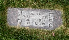 Sarah Priscilla Holland Dunn (1873-1938) - Find A Grave Memorial