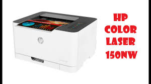 <b>HP Color Laser 150nw</b> - YouTube