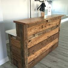 diy reclaimed wood reception desk reclaimed reception desk by home interior designs inspiration ideas diy reclaimed wood reception desk