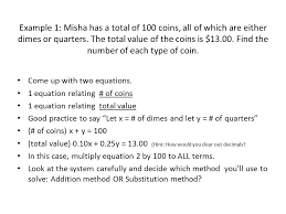 system of linear equations problem solving 3 examples of how to set 2 example