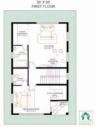 south facing house plans 30x50 lovely floor plan for 30 x 50 feet plot