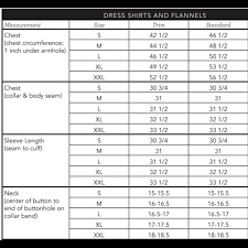 Mizzen And Main Size Chart Mizzen Main Manhattan Solid White