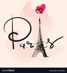 Paris Graphic Designer Artistic Paris Eiffel Tower Design
