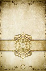old book page design aging paper background with decorative vine frame elegant border and old fashioned ornament