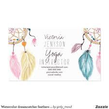 Dream Catcher Card Designs Create Your Own Profile Card Zazzle Com Watercolor