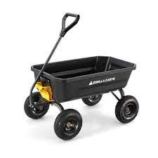 reviews for gorilla carts 4 cu ft