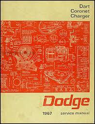 1967 charger wiring diagram manual reprint 1967 dodge charger coronet dart repair shop manual original