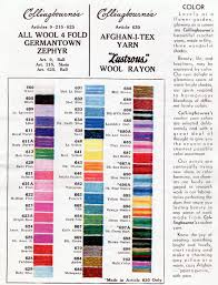 Yarn Weight Substitution Chart How To Read Vintage Crochet Patterns And Discontinued Yarns