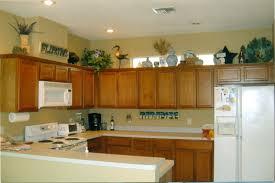 Above Kitchen Cabinet Storage Elegant Decorating Ideas For Above Kitchen Cabinets 49 Awesome To