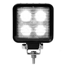 Defender Flood Lights Grand General 76358 Square Heavy Duty 4 Led Flood Light