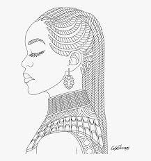 Subscribe for more fun new coloring videos everyday. African Queen Coloring Pages Hd Png Download Transparent Png Image Pngitem