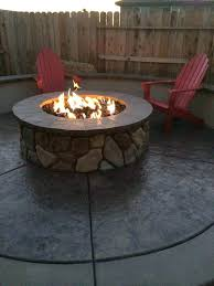 building gas fire pit how to build an outdoor gas fireplace natural regarding fire pit ideas