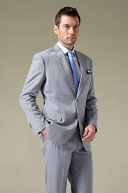 Light Grey Pinstripe Suit Combinations Grey Suit With Blue Dress Yy