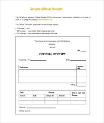 Receipt Document Template Free Invoice Template Doc Rent Receipt