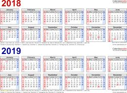 Fiscal Calendar 2018 2019 Image Result For Free Printable 2018 2019 ...