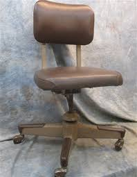 office chair vintage. Brown (united?) Swivel Rolling Propeller Base Office Chair Mid Century Vintage | EBay O