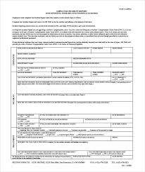 15 Employee Incident Report Templates Pdf Word Pages
