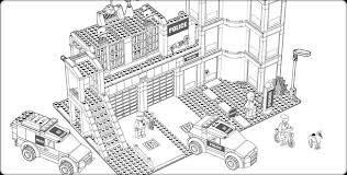 Small Picture Awesome Collection of Lego City Coloring Pages On Resume