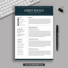 2019 2020 Pre Formatted Resume Template With Resume Icons