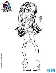 Small Picture Coloring Pages Monster High Coloring Pages Coloringstar Monster