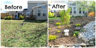 Small Picture Landscaping Ideas On A Budget F Diy Front Yard For Amys Office