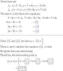 L1 And L2 Determine Whether The Lines L1 And L2 Are Parallel Skew Or