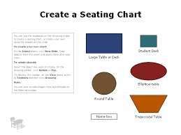 Microsoft Seating Chart Multiple Seating Chart Business Charts Templates