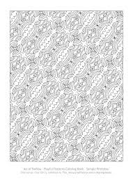 here to see a sle page of the pleasing patterns travel size coloring book you can print on your printer to color