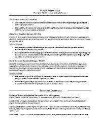 Ex Of Resumes Photo Resume Examples Socialum Co