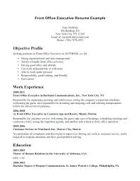 Receptionist Resume Examples 40 And Create My Resume To Frame Stunning Front Desk Receptionist Resume
