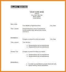 Resume Sample Format Pdf | Resume Format And Resume Maker