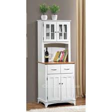 Microwave Furniture Cabinet Cabinet Brook White