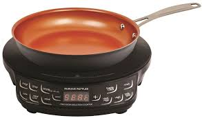 details about induction cooktop portable cook top countertop burner w nonstick frying pan