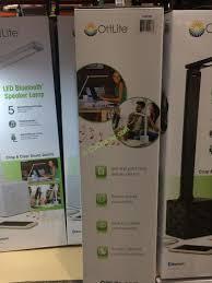 costco 1081925 ott lite led desk lamp with speaker back