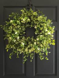 front door decor summerBest 25 Boxwood wreath ideas on Pinterest  Stair wall decor