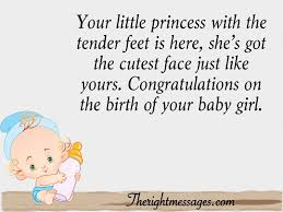 New Born Baby Girl Wishes Quotes Congratulation Messages